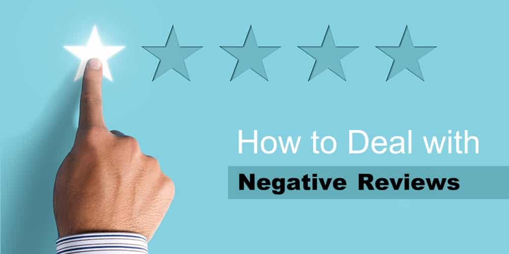 How to deal with bad reviews online